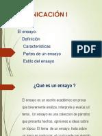 EL ENSAYO CARACTERISTICAS.ppt