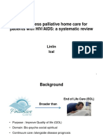Palliative Home Care for Patients With HIV
