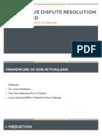 Thailand ADR