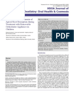 Reliability of Assessments of Apical Root Resorption During Treatment With Removable Orthodontic Appliance in Children