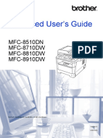 Brother MFC8x10dn Adv User Guide
