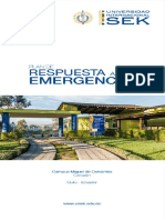 Plan Respuesta Emergencia SEK