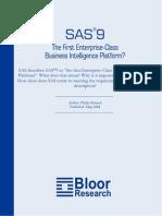 sas 9 the first enterprise-class business intelligence platform