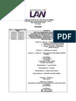 1st Annual School of Law Planning Program