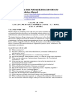 Living Democracy Brief National Edition 1st Edition by Shea Solution Manual