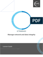 Manage Network and Data Integrity