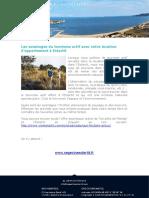 Les avantages du tourisme actif avec votre location d'appartement à Estartit
