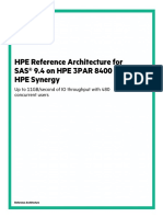 3PAR 8400 Reference Architecture for SAS 9_4
