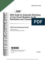 IEEE Reclosing