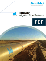 Irrigation Pipe System