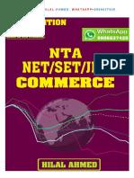 NTA UGC COMMERCE
