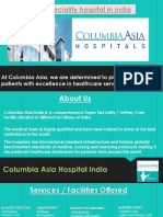 Multispeciality Hospital in India- Columbi Asia India