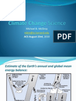 Climate Change Science Michael Mcelroy Powerpoint Slides