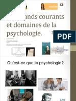Les Grands Courants Et Domaines de La Psychologie 1