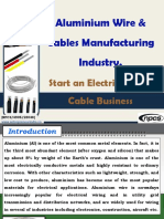 Aluminium Wire & Cables Manufacturing Industry