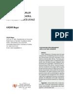 Organizarea Birourilor de Comunicare in Insttitutiile Publice