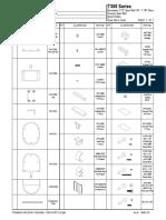 Framing Arcadia Thermal T350 Parts ID