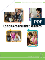 Complex Communication Needs
