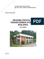 Rehabilitation of Transformer Station Civil Works