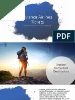 Avianca Airlines Tickets