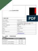 2. Form CV Job Description Inez