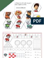 Paw Patrol Rutina Matemática Nivel 2 1
