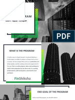 FinShiksha Analyst Program 2019
