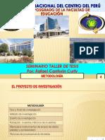Seminario Taller de Tesis 2017-4