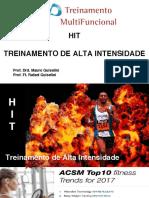 Hit- treinamento de alta intensidade intervalado