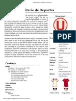 Club Universitario de Deportes - Wikipedia