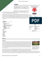 Peruvian Primera División - Wikipedia