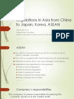 AlainKhaiatCosmeticRegulationsFromchinaToJapanKoreaASEAN