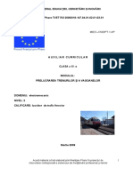 Prelucrarea trenurilor si a vagoanelor.doc