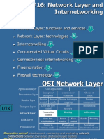 16. Network Layer and Internetworking