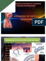 Sindrome de Dificultad Respiratoria[1]