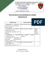 Responsabilitaţile Membriilor Comisiei (2)