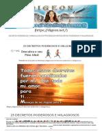 23 DECRETOS PODEROSOS E MILAGROSOS.pdf