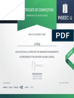Certificate Marketing in a Digital World - Learning7 INSEEC U