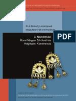 3. Nemzetközi Korai Magyar Történeti És Régészeti Konferencia