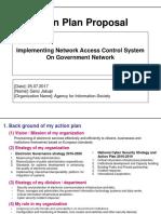 Action Plan Proposal