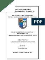 Administracion - Proyeccion Social