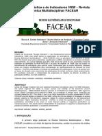 Analise Estatistica e de Indicadores Web Revista Eletronica Multidisciplinar Facear