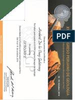 Xviii Congreso Peruano de Geologia