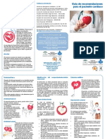 Tríptico Coronario. Factores Cardiovasculares