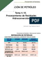 REFINACIÓN DE PETRÓLEO POR HIDROCONVERSIÓN