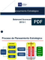 Balanced scorecard (planeamiento estrategico)