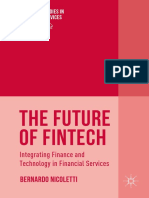 Preview of the Future of FinTech Integrating Finance and Technology in Financial Services