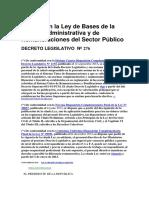 Decreto Ley - 276