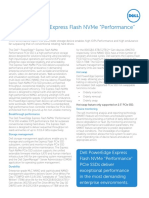 Dell PowerEdge Express Flash NVMe PCIe SSD Spec Sheet