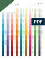 Linkedin Palette Print